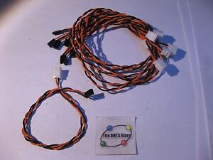 Qty-8-Cable-Assembly-2-Wire-Hard-Drive-Indicator-Light-12-Inch-Used