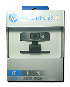 Details about HP HD 2300 Webcam High Definition 720p USB Microphone  Original Genuine Brand NEW