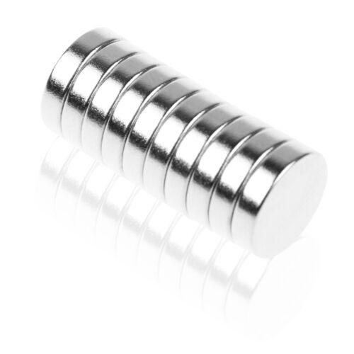 10//20//50//100//200x N35 Starke Neodym Magnete Rund Magnet Für Pinnwand Kühlschrank