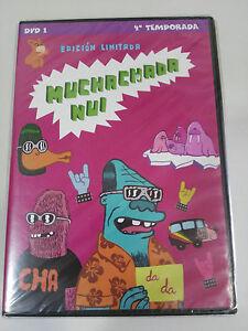 Muchachada Nui CUARTA TEMPORADA 4 - DVD 1 - EDICION LIMITADA SKETCHES Nuevo