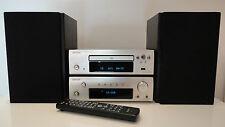 Denon DRA-F107DAB Amp Receiver Denon DCD-F107 CD HiFi Component + Gale Speakers