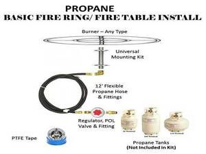 propane fire ring. Image Is Loading FR36CK-36-FIRE-RING-COMPLETE-BASIC-PROPANE-FIRE- Propane Fire Ring G