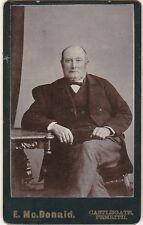 Antique Victorian Carte de Visite / CDV - E. McDonald, Penrith