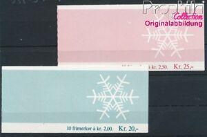Norwegen-938MH-939MH-2-Markenheftchen-postfrisch-1985-Weihnachten-8940420