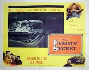 The-Family-Secret-1951-Original-Half-Sheet-22x28-034-John-Derek