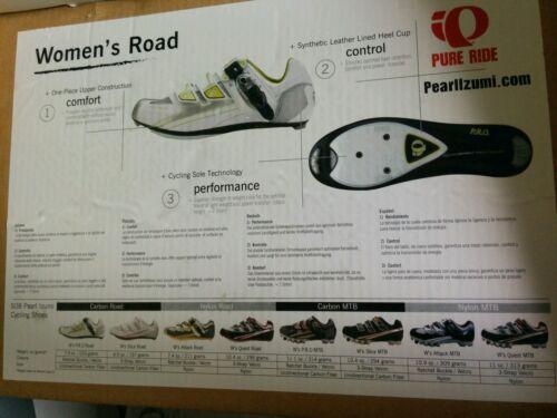 Details about  /NIB Pearl Izumi Women/'s Attack Road Cycling Shoe Size European 40.0
