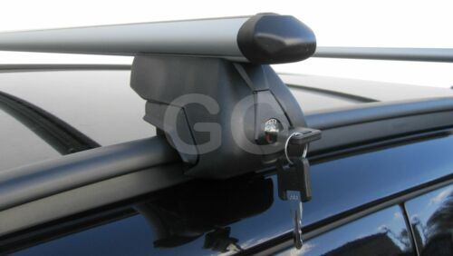 Aluminium Aero Roof Rack Rail BarsFiat Panda 2012 onwards with Flush Rails