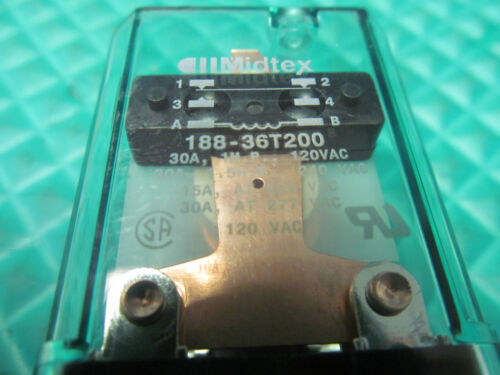 NEW Midtex Relay 188-36T200 FREE SHIPPING!!!