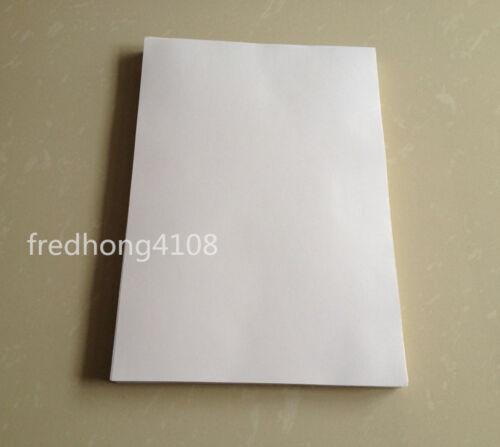 20pc Sheet Matte A4 Printable Self Adhesive Sticker Writting Printer paper White