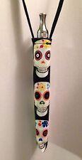 E-cigarette Lanyard Vaporizer ego holder Key Chain ecig case Sugar Skulls Skull