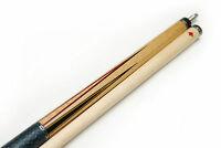 New AB-1 DELTA Ebony Billiard Pool Cue Stick AB1 Custom Inlay Bird's Eye Maple