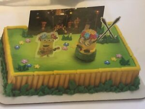 Image Is Loading NEW DecoPac DESPICABLE ME 3 HULA PARTY UNIVERSAL