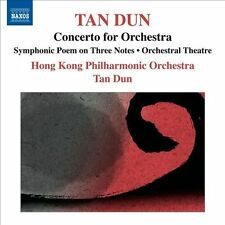 TAN DUN: CONCERTO FOR ORCHESTRA (NEW CD)