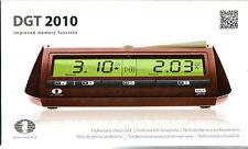 Schachuhr elektronisch: DGT 2010 - NEU / OVP - auch für Scrabble® geeignet !!