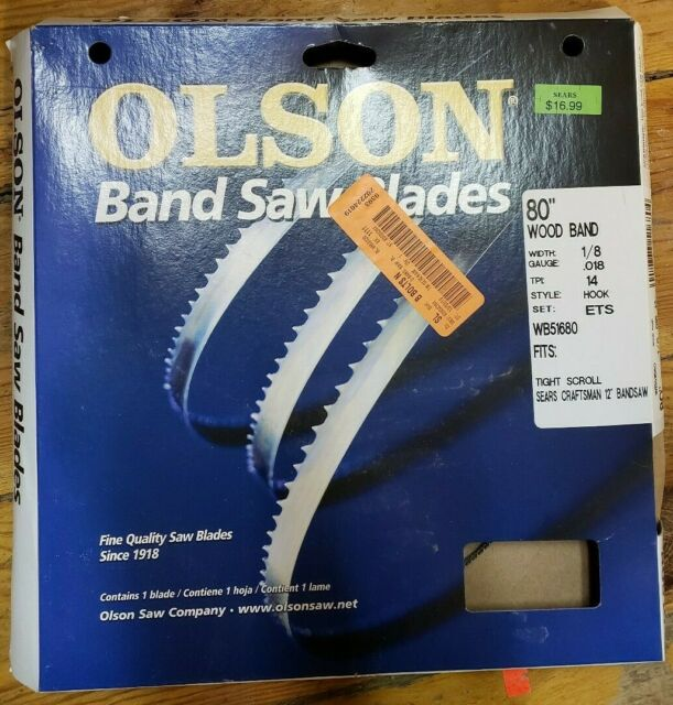"Olson 80/"" Bandsaw Blade"
