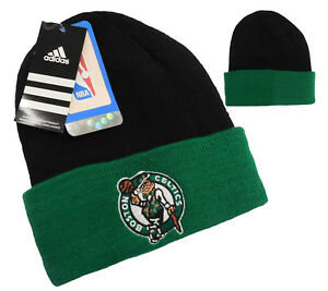 BOSTON CELTICS BEANIE NBA BEANIE CUFFED KNIT HAT BOSTON CELTICS ... c9565c49825