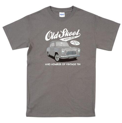 Ford Anglia 100e Pop Classic Car T Shirt Very retro T Shirt Vintage car Gift