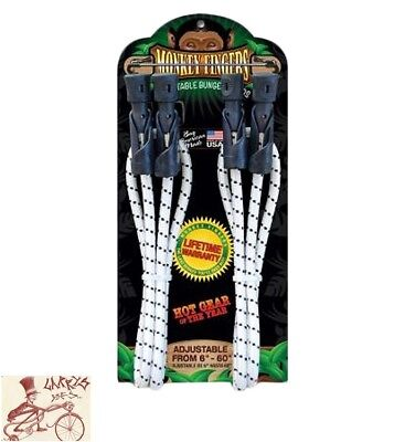 MONKEY FINGERS DURA PLASTIC 6-60in ADJUSTABLE SINGLE PACK BUNGEE CORD