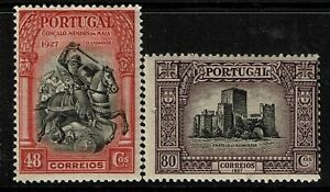 Portugal-SC-432-and-433-Mint-Hinged-Hinge-Remnant-see-notes-S6335