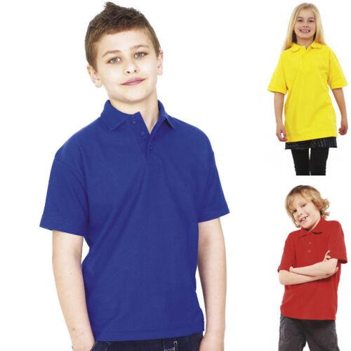 Lagerräumung Angebot Kinder Polohemd Poloshirt Mädchen Junge Shirt unisex Kids