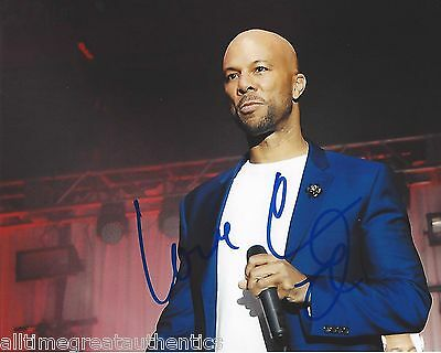 Music Rap & Hip Hop Rapper Actor Common Signed 8x10 Photo W/coa Selma Wanted Good Music With The Best Service