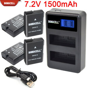 EN-EL14-ENEL14-Battery-Charger-For-Nikon-D3100-D3200-D3300-D5100-D5200-D5300-EG