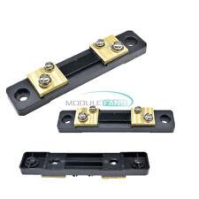 Dc75mv 50a Shunt Resistor Fl 2 For Meter Amp Analog Panel Ammeter Voltmeter