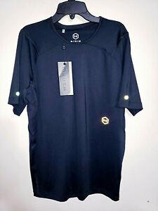 Mens-Under-Armour-Rush-Black-Short-Sleeve-Athletic-Shirt-50-New-NWT-Size-XL