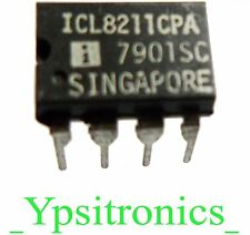 ICL8211 CPA INTEGRATED CIRCUIT PROGRAMMABLE VOLTAGE RECEIVER  DIP 8 INTERSIL NEW