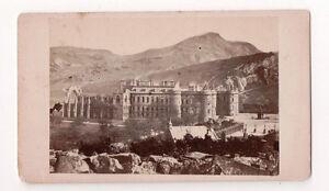 Vintage-CDV-Holyrood-Palace-Edinburgh-Scotland-Royal-residence