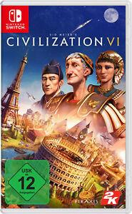 Sid Meier's Civilization VI - Nintendo Switch NEU OVP in Folie eingeschweisst - Weilerswist, Deutschland - Sid Meier's Civilization VI - Nintendo Switch NEU OVP in Folie eingeschweisst - Weilerswist, Deutschland