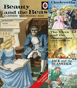 PERSONALISED-Ladybird-Classic-Books-Cinderella-Elves-and-the-shoemaker-Rapunzel
