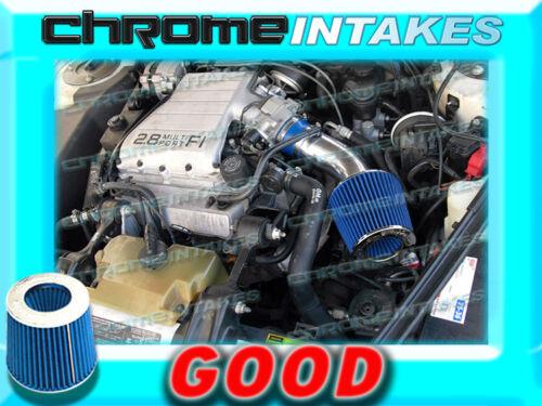 BLUE 88 89 90 91 92 93 PONTIAC GRAND PRIX 2.8 2.8L//3.1 3.1L V6 AIR INTAKE KIT