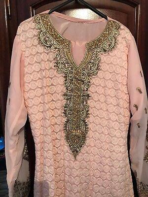 *** Né Baby Rosa/pakistano Indiano Vestito ***-an Outfit *** It-it Mostra Il Titolo Originale Essere Romanzo Nel Design