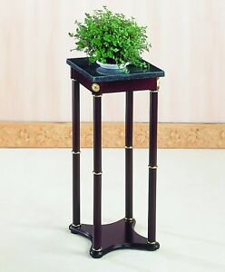 Telephone Desk Stand Table Indoor Plant Small Accent Pedestal Flower