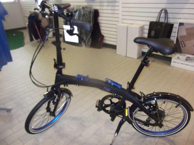 "BMW Folding Bicycle Dark Black 20"" 80912447964"