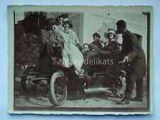 AUTO CAR automobile vecchia foto 1919 old photo