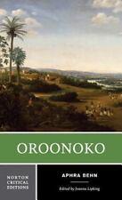 Norton Critical Editions: Oroonoko 0 by Aphra Behn and Joanna Lipking (1997, Paperback)