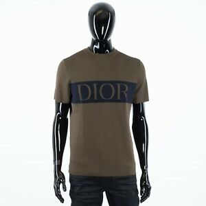 DIOR-HOMME-900-Khaki-Technical-Cashmere-Tshirt-With-DIOR-Intarsia