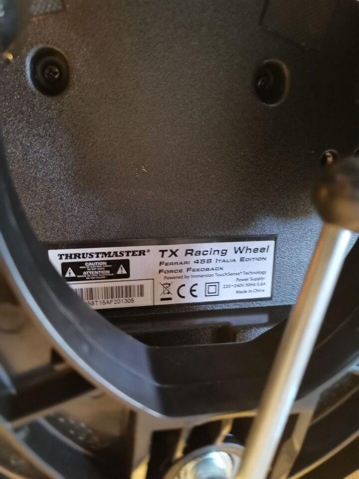 Rat & Pedaler, Xbox 360, Thrustmaster Ferrari 458 Force