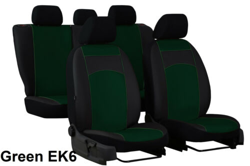 SUZUKI SX4 Mk1 2006-2013 ECO LEATHER TAILORED SEAT COVERS MADE TO MEASURE
