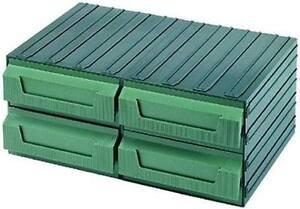 Cassettiere In Plastica Per Magazzino.Terry 4039018 Cassettiere Componibili Plastica Servoblock 8 H Ebay