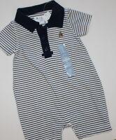 Baby Gap Boy's 100% Cotton Knit 1 Pc. Polo Shorts Romper