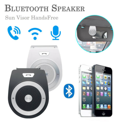 Wireless Bluetooth Multipoint Handsfree Speakerphone Kit Car for Mobile Phone