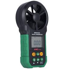 MS6252A LCD Digital Anemometer Wind Speed Air Flow Velocity Measure Meter Tester