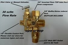 Gas Air Compressor Pilot Check Valve Unloader Valve Combo 95 125 Ng15