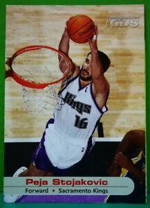 Peja Stojakovic card 2004 Sports Illustrated For Kids #362