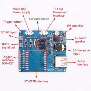 UART-Voice-Controller-Module-Shield-for-XY-V17B-Mini-MP3-Player-Module