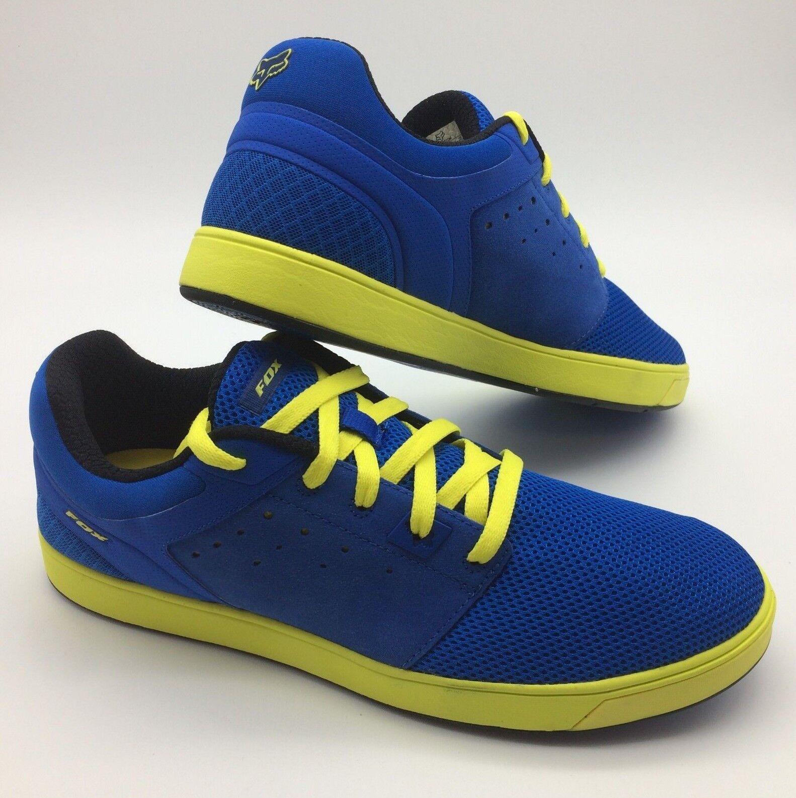 Fox Herren Schuhe   Bewegung Scrub Frisches   Blau Gelb Blau   Gelb