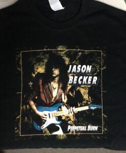 Jason-Becker-PERPETUAL-BURN-Music-T-Shirt-MEN-Black